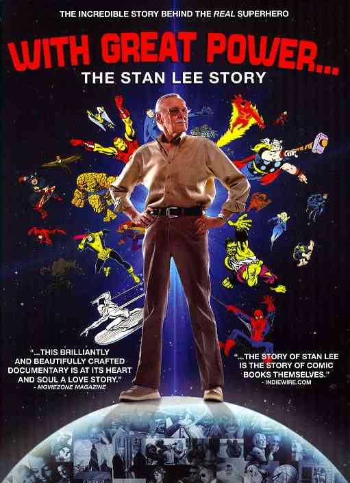 WITH GREAT POWER:STAN LEE STORY BY LEE,STAN (DVD)